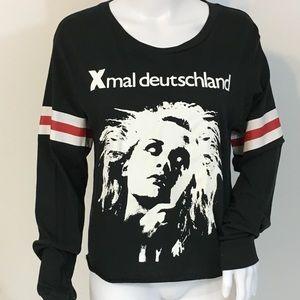 🦇X-mal Deutschland Size XL Goth Dark Wave Punk🦇